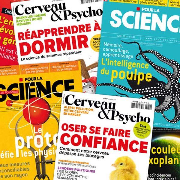Pour la Science – Cerveau & Psycho